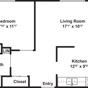 Adam Lawrence Apartments Floor Plan Image 1