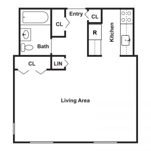 Barkley Gardens Apartments Floor Plan Image 2