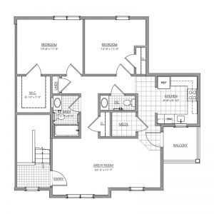 Conifer Village at Deptford Floor Plan Image 4