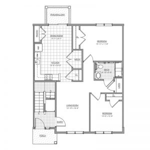 Conifer Village at Deptford Floor Plan Image 7