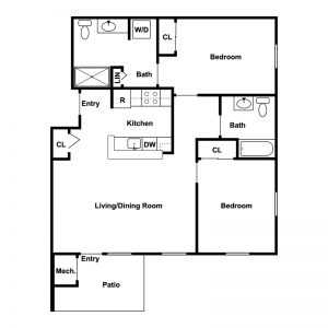 Conifer Village at Ithaca Floor Plan Image 1