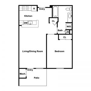 Conifer Village at Ithaca Floor Plan Image 2