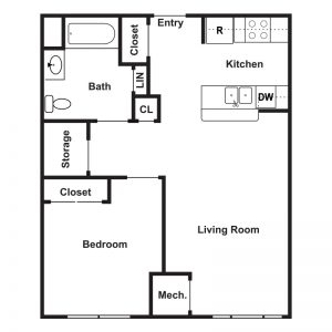 Cathedral Place Floor Plan Image 1