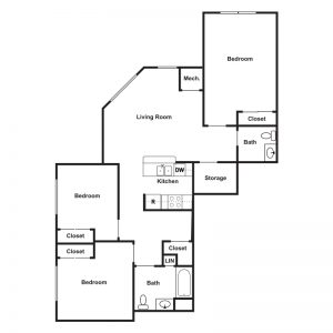 Cathedral Place Floor Plan Image 2