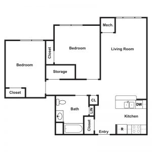 Cathedral Place Floor Plan Image 3