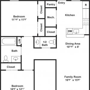 Clayton Mill Run Floor Plan Image 2