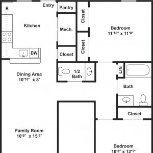 Clayton Mill Run Floor Plan Image 4