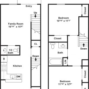 Clayton Mill Run Floor Plan Image 5