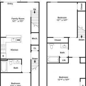 Clayton Mill Run Floor Plan Image 6