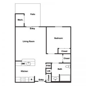 Cobblestone Place at Webster Floor Plan Image 1