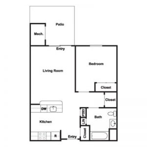 Cobblestone Place at Webster Floor Plan Image 2