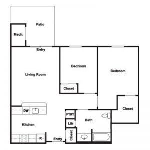 Cobblestone Place at Webster Floor Plan Image 3