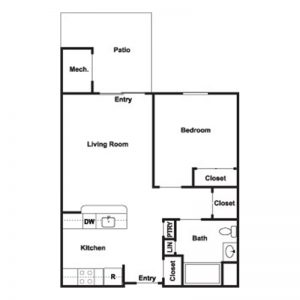 Cobblestone Place at Webster Floor Plan Image 4
