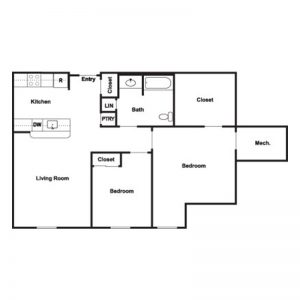 Cobblestone Place at Webster Floor Plan Image 5