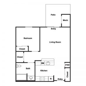 Cobblestone Place at Webster Floor Plan Image 7