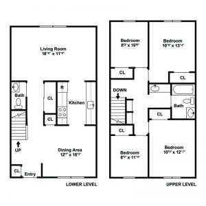 F.I.G.H.T. Village Apartments Floor Plan Image 1