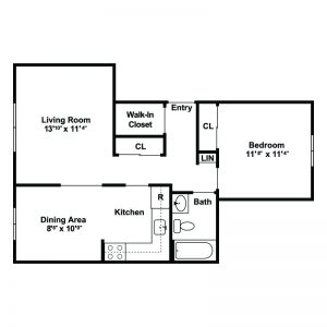 F.I.G.H.T. Village Apartments Floor Plan Image 3