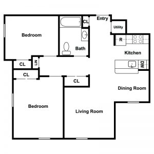 Ferry Manor Senior Apartments Floor Plan Image 5