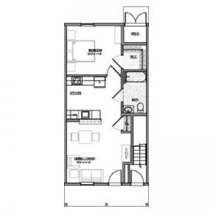 Green Heron Point Apartments Floor Plan Image 1