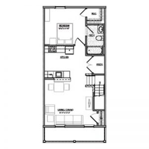 Green Heron Point Apartments Floor Plan Image 4
