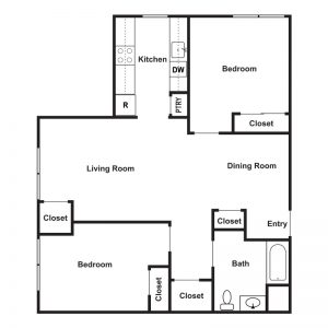 Gregory Senior Residences Floor Plan Image 1