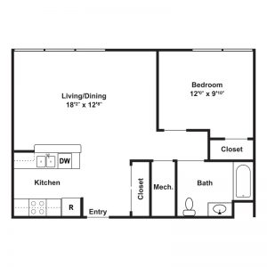 Gregory Senior Residences Floor Plan Image 3
