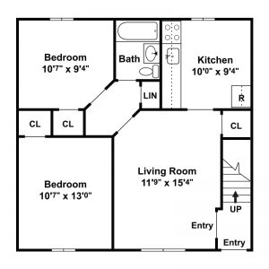 Leland Gardens Apartments Floor Plan Image 1