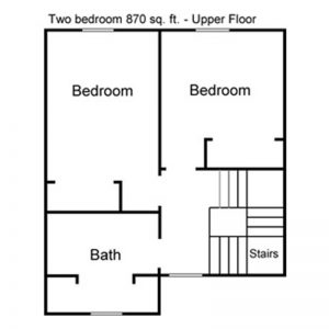 Maple Leaf Apartments Floor Plan Image 1