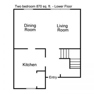 Maple Leaf Apartments Floor Plan Image 2