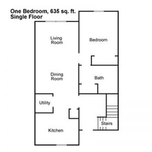 Maple Leaf Apartments Floor Plan Image 3