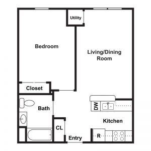 Marley Meadows Apartments Floor Plan Image 3
