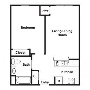 Marley Meadows Apartments Floor Plan Image 3