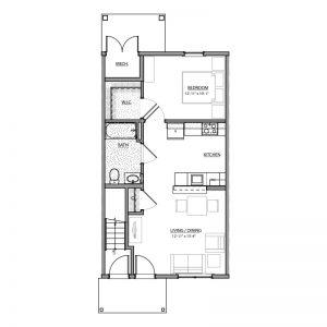 Meadow Lark Run Apartments Floor Plan Image 1