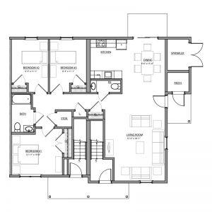 Meadow Lark Run Apartments Floor Plan Image 3