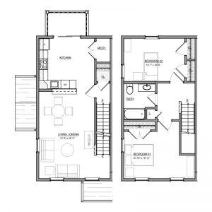 Meadow Lark Run Apartments Floor Plan Image 4
