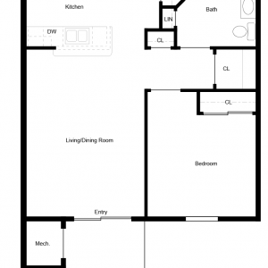 MeadowView at Clifton Park Apartments Floor Plan Image 1