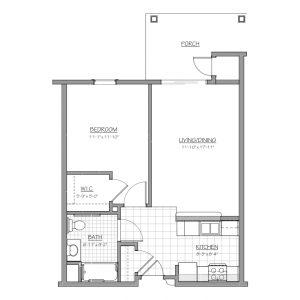 Medford Senior Residence Floor Plan Image 1