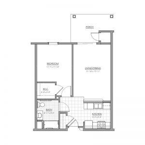 Medford Senior Residence Floor Plan Image 2