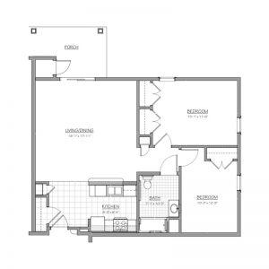 Medford Senior Residence Floor Plan Image 3