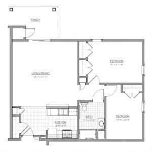 Medford Senior Residence Floor Plan Image 4