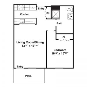 Morningside Senior Apartments Floor Plan Image 2