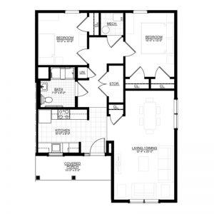 North Creek Run Floor Plan Image 5