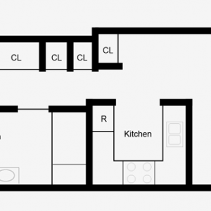 Norwich Senior Housing Floor Plan Image 1