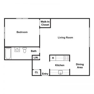 Peppertree Apartments Floor Plan Image 1