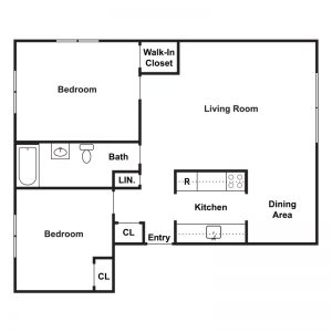 Peppertree Apartments Floor Plan Image 2