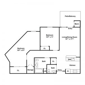 Pinehurst A Conifer Community Floor Plan Image 1