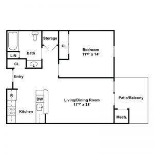 Pinehurst A Conifer Community Floor Plan Image 3