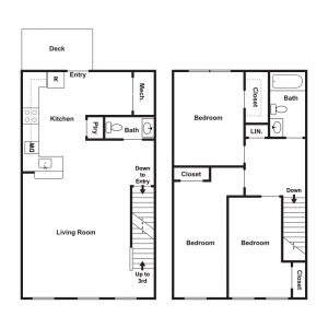 Revere Run at Gloucester Township Floor Plan Image 3