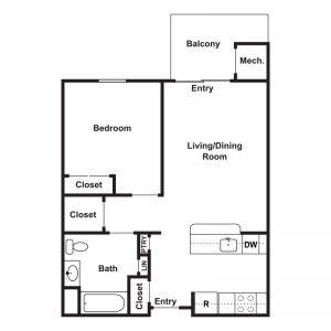 Rittenberg Manor Floor Plan Image 1