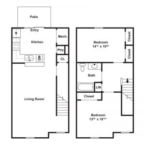 Riverfront Village at Pennsauken Floor Plan Image 1